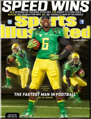 Sports Illustrated Cover - Speed Wins
