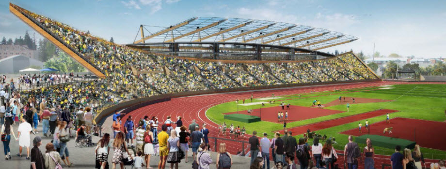 The NEW Hayward Field