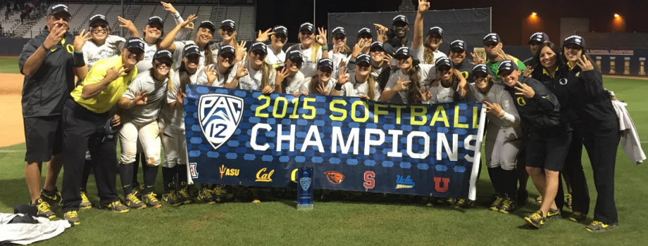 Oregon Softball - Back-toBack-toBack Champs