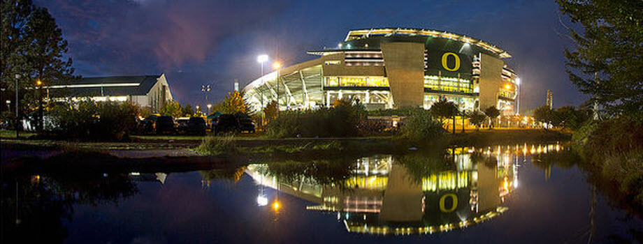 UO Autzen at Night (wide)
